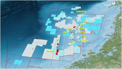 Norskehavet har fått økt fokus hos Equinor. Neste år planlegger selskapet å bore seks letebrønner i dette området.