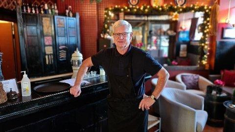 – Vi har mye catering, og tilpasser julebord for fem og fem i gangen. Vi er veldig strenge, sier Ole Løvold.