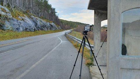 16 ble stoppet da politiet tirsdag formiddag målte fart i 80-sonen i Renndalen.