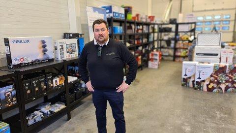 Erik Michaelsen ser fram til å utvikle et fullverdig servicesenter for bobil og caravan i det tidligere Dekkmann-bygget på Løkkemyra.