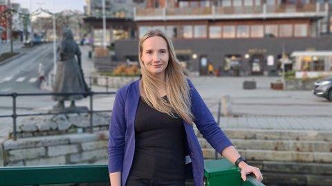 – Jeg har aldri vært redd for å ta på meg ansvar, sier Kerli Laul Grimstad.