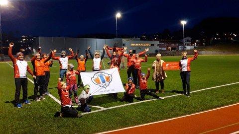 100.000 KRONER: Aure idrettslag er tildelt 100.000 kroner i støtte av Equinor.