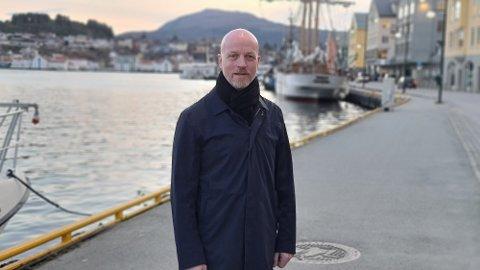 LOKALT NÆRINGSLIV: Ole Jonny Rugset tok over som daglig leder i Kristiansund og Nordmøre næringsforum (KNN) i koronaåret 2020.