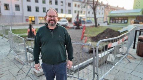 – Målet er å stimulere flere til å bruke byen, sier Tore Lyngvær.