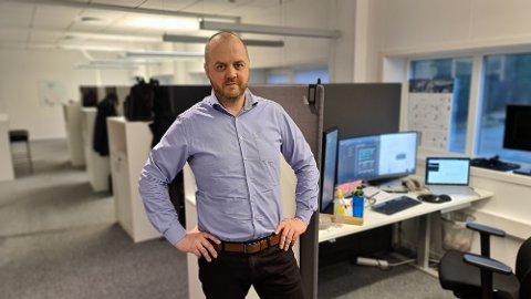 I desember sa daglig leder i Simployer Capitech Øyvind Taknæs at selskapet skulle ansette flere. Status 1. mars er at flere kontrakter signert. (akrivbilde)
