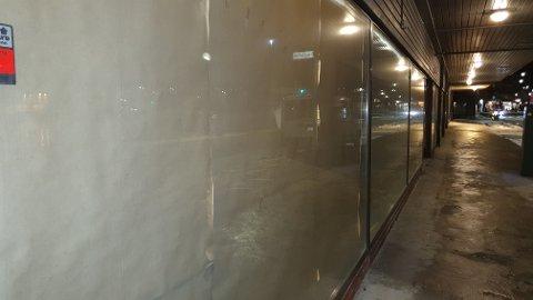 Gullagården: Gråpapiret skal erstattes av ny butikk.