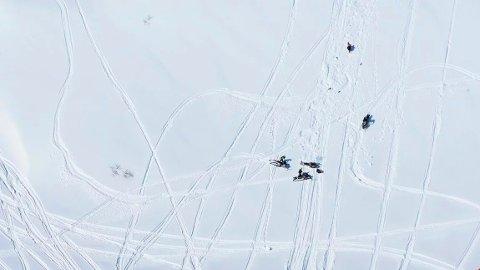 Forrige lørdag formiddag fikk Statens naturoppsyn tips om ulovlig snøskuterkjøring i Rindal.