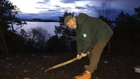 KLAR: Daglig leder Roar Halten i Kristiansund og Nordmøre Turistforening sier i en pressemelding at de er klare for å ta i mot utenlandske turister. Arkivfoto