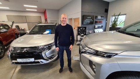 – Vi hadde ikke vært der vi er i dag uten Mitsubishi. Nå handler det om å se på mulighetene for å utvikle seg videre, sier Ketil Winje.