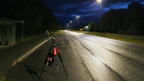 UP sto torsdag kveld i 50-sonen på Dale i Kristiansund.