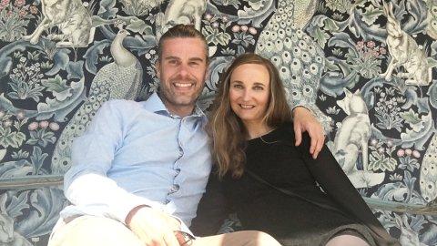 Chris Walley og Mildrid Djupvik møttes i England mens begge studerte. Nå driver de sitt eget firma på Frei i Kristiansund.