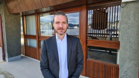Martin Gjendem Mortensen stiller seg til disposisjon for spørsmål fra politikerne gjennom hele budsjettarbeidet fram til endelig bystyrevedtak den 16. desember.