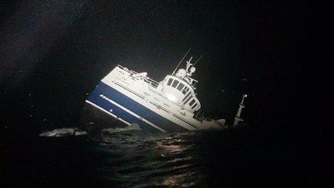 Forliset i Barentshavet nordøst for Honningsvåg i desember 2019 skjedde i dårlig vær og under dramatiske omstendigheter.