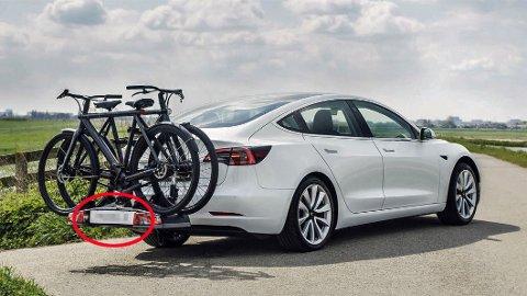 Det er slett ikke alltid like lett å vite hva som er lov og ikke, ei heller når det gjelder å frakte sykler bak på bilen.