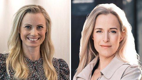 FORBRUKERØKONOMER: Forbrukerøkonomene Silje Sandmæl i DNB og Thea Olsen i Danske Bank påpeker at kjøpesummen kun er første utgift for hytteeiere, og at mange ikke er klar over hvor dyrt det er å eie hytte.