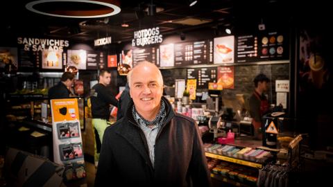 Fra Kristiansund til lederstilling i Circle K – Hans-Olav Høidahl har jobbet seg opp og frem siden økonomistudiene på 90-tallet.