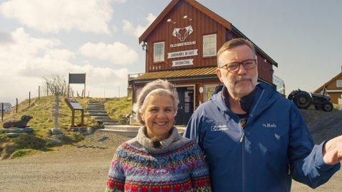 I år har eierne Hanne Kruse Larsen og Jan-Erik Larsen utvidet tilbudet og i tillegg testet ut et nytt lokalmatkonsept, med hovedvekt på klippfisk og villsau, på Villsaugården. Nå røper de nye planer for den lille, men populære, turistdestinasjonen.