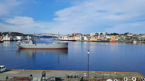 Hestmanden ankommer Kristiansund torsdag 29. juli.