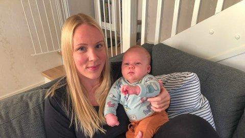 Da Alvin skulle komme til verden valgte mamma Line Fagermo Golmen å reise til Trondheim i stedet for Molde.