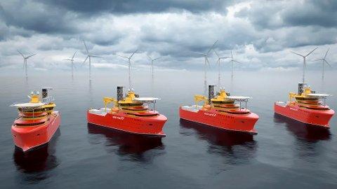 15 prosjekt får opp til en million kroner hver i støtte fra Enova for å utrede muligheten for å produsere hydrogen fra fornybar kraft til bruk i maritim sektor.