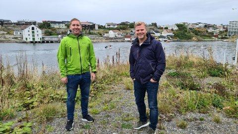– Nå tar vi tak i dette området og har en drøm om å lykkes, sier Pål Erik Forsnes og Per Arne Fladseth.