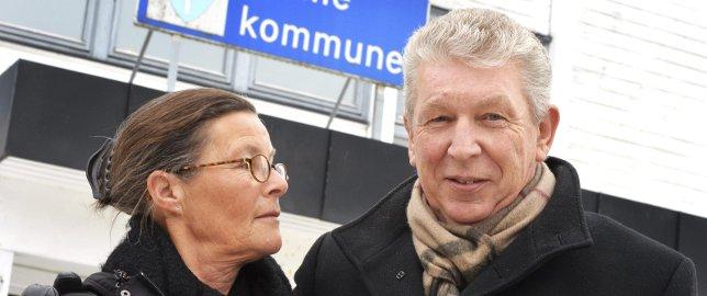 BESTEMMER SELV: Tjømes politikere er enige om at utredningen av TNT må fortsette, selv om Høyre på Nøtterøy har sagt nei til TNT. Både  Aps Siri Foyn og ordfører John Marthiniussen (H) er opptatt av at Tjøme selv skal bestemme veien videre. FOTO: Per Gilding