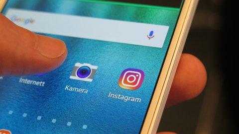 NY FUNKSJON: Instagram tar etter Snapchat og innfører varsling når noen tar skjermdump av bilder du sender direkte til noen via Instagram-historien din. Foto: Alexander Winger (Nettavisen)