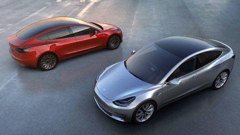 Model 3 har allerede solgt i over 115.000 eksemplarer, og den er såvidt lansert. Dette lover godt for Tesla.