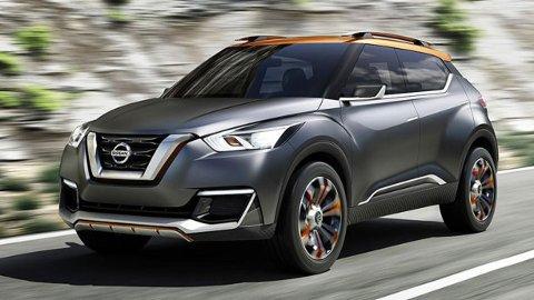 EL-SUV: Ryktene sladrer om en ny Nissan Juke neste år. Den vil etter alt å dømme komme som elbil.