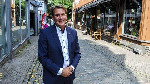 FRAMTIDSRETTET: Et budsjett med skattelettelser til dem som har mest fra før, er framtidsrettet ifølge stortingsrepresentant Kårstein Eidem Løvaas (H).