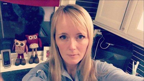 ADVARER: Linn Dahlgren Thuve ber folk passe godt på ytterklær og andre verdisaker etter at hun ble frastjålet en dyr Canada Goose-jakke.