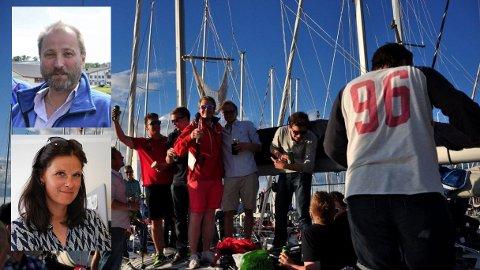 BRYGGEFEST: Ingar Skytte og Cecilie Sørumshagen arrangerer henholdsvis Horten After Sail og Færderfestivalen samme helg.