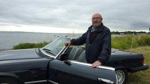 FORNØYD: Arne Herman Pedersen har vokst opp i Tønsberg, og setter pris på alle de gode tilbudene.