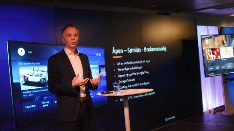 Canal Digital-sjef Ragnar Kårhus satser på helt ny TV-plattform med Googles Android TV.