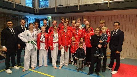 Tønsberg Taekwon-Do klubb på ØC1 2018