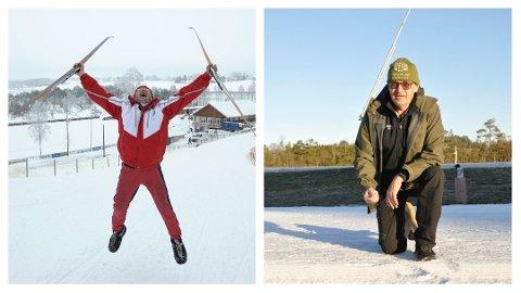 STOR FORSKJELL: Vinteren 2010 var det en hoppende glad Tom Horntvedt som tok imot NM-løperne i Stokke. Ti år senere presenterer han en trasé på snaue 700 meter. – Det hadde ikke blitt noe NM i Stokke i dag. Foto: Per Langevei/Ann Kristin Saastad