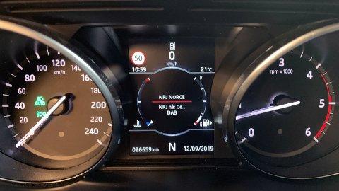 SJEKK HVOR MYE DU KJØRER: Øk kilometerlengden i bilforsikringen din før det er for sent. Det gjør du enkelt på nettet eller tar en telefon til forsikringsselskapet ditt. (Foto: NAF)