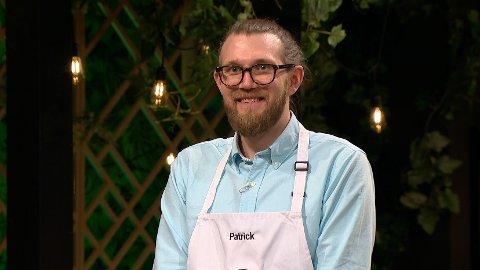 SEMIFINALEN: Patrick Faaland var en av de siste som måtte forlate MasterChef-konkurransen og kjempet seg til en semifinaleplass.