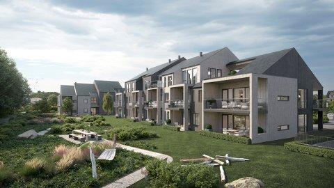 SELGER BRA: – Det er ikke bygget mange leiligheter i Tolvsrød-området de siste årene, sier Johan Zeiner i Zeiner Bolig. Det tror han er en av årsakene til at det nye boligprosjektet Tolvsrød Hage har solgt bra. Illustrasjon: Zeiner Bolig / Spir