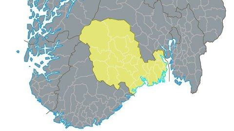 SPLITTES: Hvis det er flertall i fylkestinget i Vestfold og Telemark, går det nå mot en splittelse av fylket.