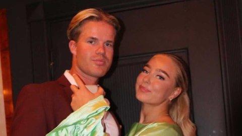 BEKREFTER FORHOLD: «Paradise Hotel»-deltakerne Solveig Messel og Stian Trulsen bekrefter til Nettavisen at de er blitt kjærester. Foto: Privat