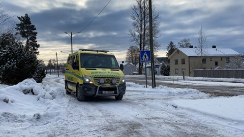 Uhellet skjedde i busslomma ved Herstad skole.