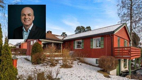 SALG: Robert Hoff er i gang med å selge denne boligen i Rugdeveien 4 på Vestskogen.