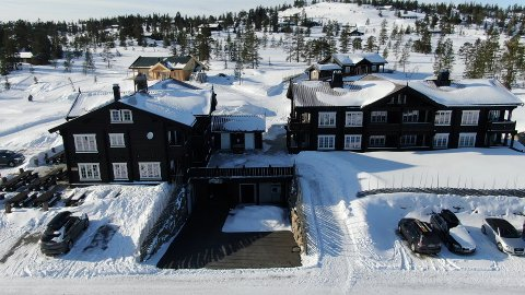 I underetasjen på Blefjell Logde holde Snarkjøp Fjellhandel til. Nå blir den selvbetjent med lange åpningstider.