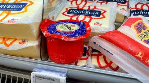 MYE Å SPARE: Det er ikke ett fett hvis du kjøper osten. Foto: Halvor Ripegutu