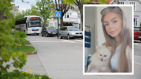 ULYKKE: Sofie mener det bør bli strengere regler når det gjelder kjøring av elsparkesykler på nattestid.