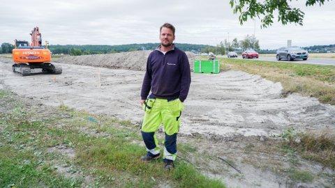 LEGGER NY VANNLEDNING: Hans Richard Dalen i Vestfold Vann.