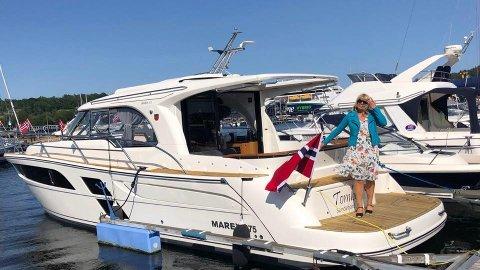 PYNTET: Bilde fra før årets båtkortesje i Sandefjord.