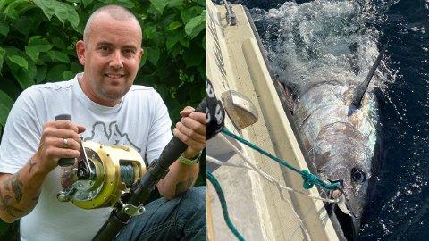 TOPP: Torgeir Huset beskriver fangsten som det største han har opplevd.