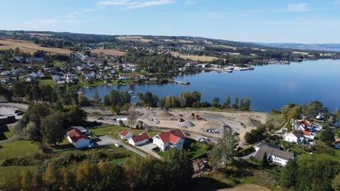 SALG: De første tomtene i Smørvika er nå solgt.